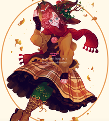 cm : 201808 for PumpkinPromise by petitster
