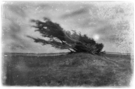 carved by the wind - pinhole by bleuz
