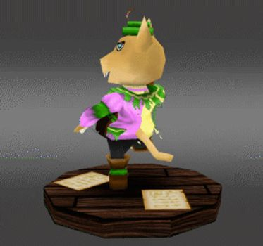 Tybalt the cat - low poly - Turntable by sudro