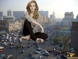 Emma Watson Traffic Block by TaranGermany
