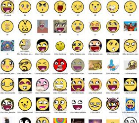 Awesome Smiley Pack by TheB3st