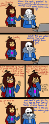 Never Search Up Sans on Google Images by Jolibe