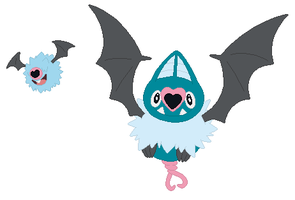 Woobat and Swoobat Base