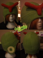 +FleeceHat:Sold+ Caterpie Hat.