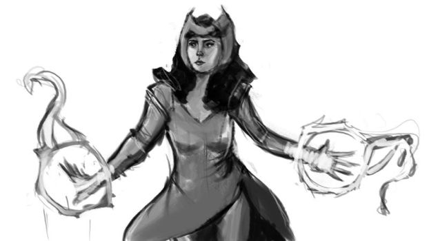 Scarlet Witch by Ronchi