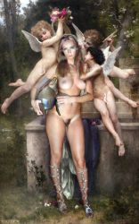 Carina walkiria Dream_of_Spring by Bouguereau 2 by FueledbypartII