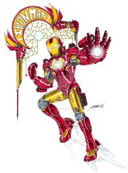 Iron Man by AngelCelesti