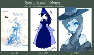 Before and After Witch Princess - Again?! by Basseless