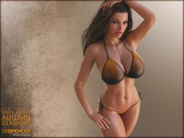 Jerica and Tikka, Autumn Glam, 02 of 10 by db-spencer