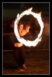 Fire Juggler by cicciojus