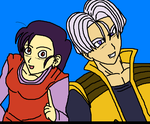Tori and Trunks by Kaiju-Borru-Zetto