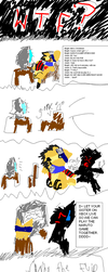 Sloppy Comic for Ameh colored by The-Little-Squid