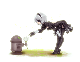Gift for 2B by Henkkab