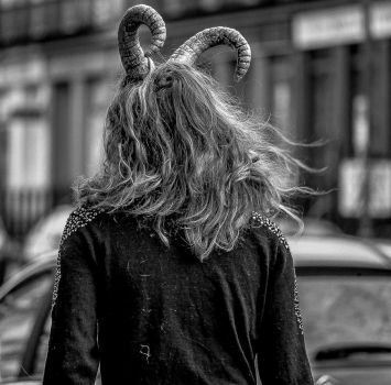 The Devil is among us, Edinburgh by MikeHeard