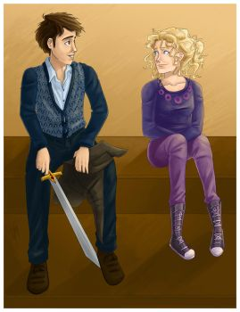 Neville and Luna commission by bbandittt