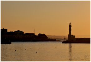 A postcard from Chania by Daywish