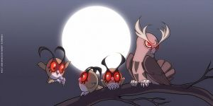 Hoothoots and Noctowl