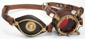 Steampunk Monogoggle 1 by AmbassadorMann