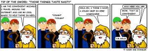 Those Things Taste Nasty by tipofthesword