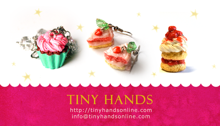 New Tiny Hands Business Cards by hanmei