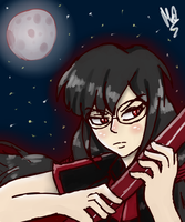 Theme 7: Nighttime. (Saya Kisaragi) by Meloewe