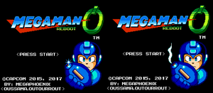 MegaMan Reboot New title Screen by MegaFinex
