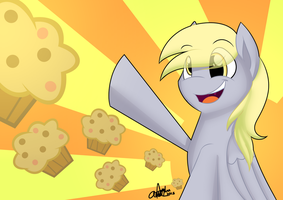 Attack of the Muffins by AiDraws