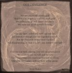 OUR Challenge. by jennystokes