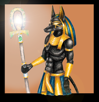 Anubis final by shadee