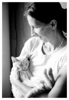 My mother and my cat by 47Laboratory
