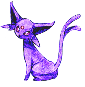 PKMN - Espeon by Resonance21