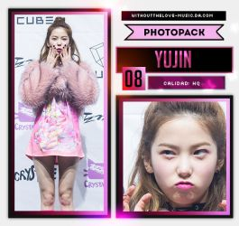 Yu Jin #1 (CLC) |PHOTOPACK| by WithoutTheLove-Music