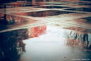 Puddle of water stock image 001 by NoirArt