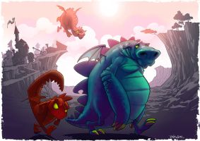 Dragons by StraightEdge1977