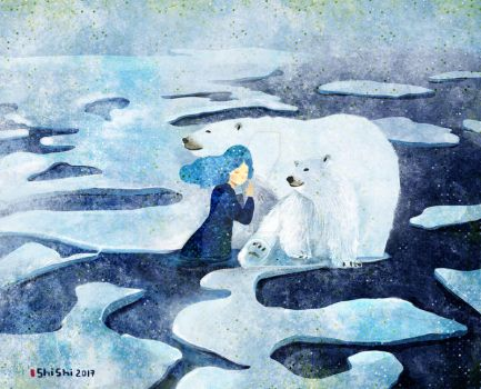 Polar Bear by nguyenshishi