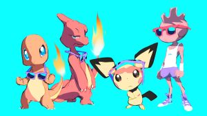 Pokemon With Sunglasses