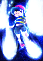 Ness Final Smash by hasumiyuki