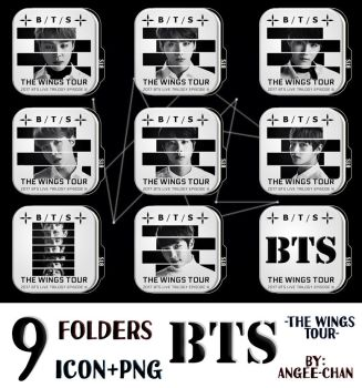 FOLDERS DE -BTS-THE WIGS TOUR- by ANGEE-CHANN
