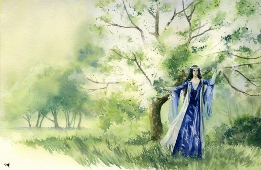 The bliss of Valinor by Filat