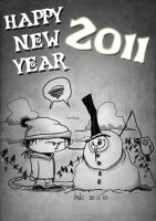 Happy New Year 2011 by JordiHP