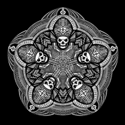 'Ghost' Mandala by WelshPixie