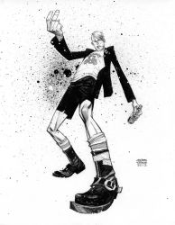 Quentin Quire Punked. by Andrew-Robinson