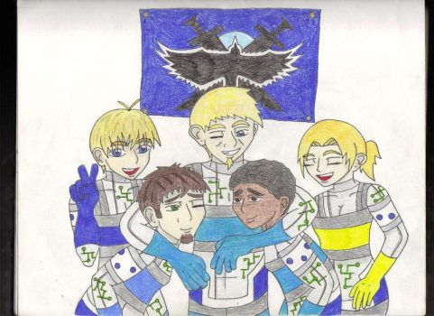 We're on the BLUE TEAM by kaygirl101