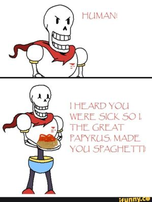Papyrus X Reader Sick Day By Vincebae On Deviantart