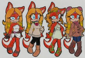 Outfit Designs: Sparkle by SassyMelvin