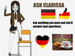 Ask Clarissa! by adimetro00