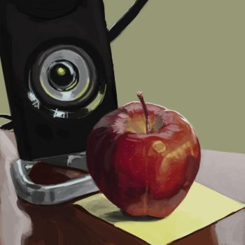 Apple study 7 by IanBrewer