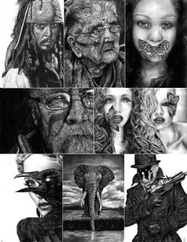 Drawings 2012 by Skippy-s