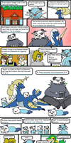 Eliza's White Nuzlocke Page 11 Part 2 by LizDraws