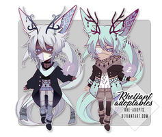 closed Adoptables set price | Reduced by Rhe-Adopts